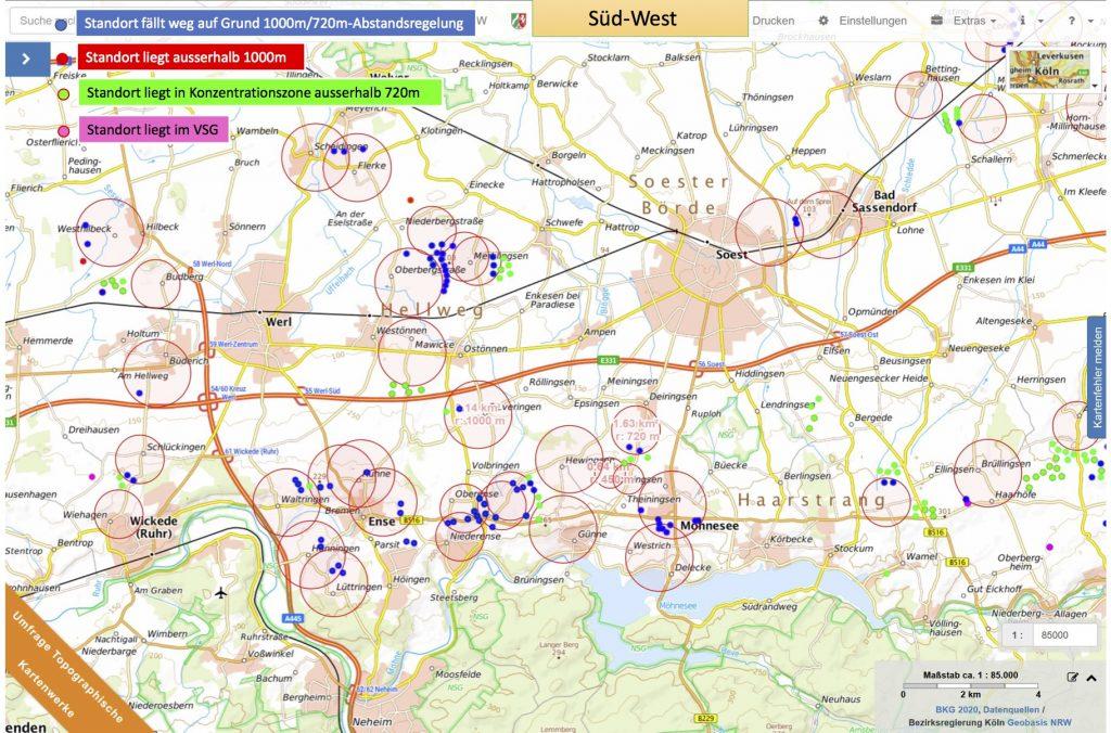 Anlagenberechnung und Karten-720m-1000m Abstand Kreis Soest_3