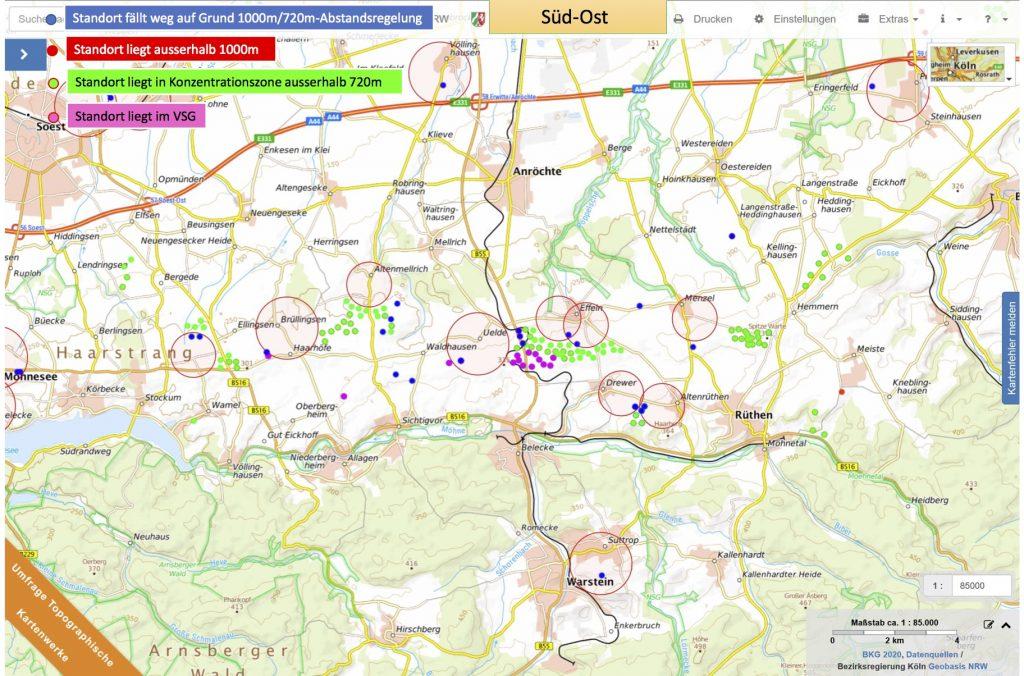 Anlagenberechnung und Karten-720m-1000m Abstand Kreis Soest_4